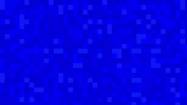Blue digital squares background video