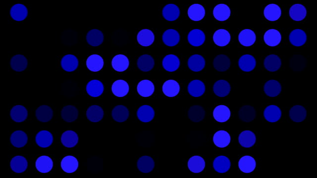 blue dots background loop video
