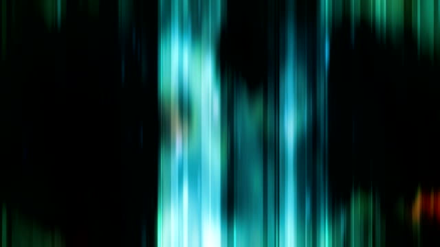 blue green light curtains video