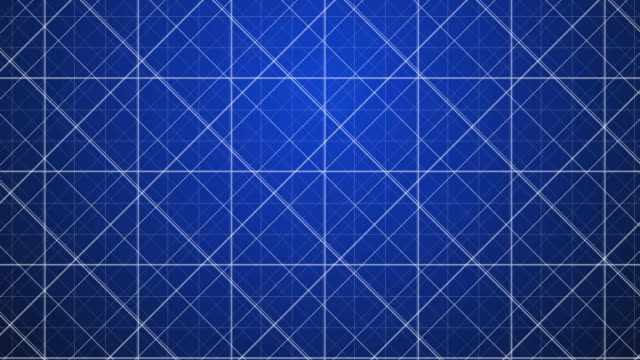 Blue Grid. Blue Grid Background. Looping motion design. High Definition video clip. blueprint stock videos & royalty-free footage
