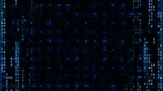 Blue Hi-Tech Digital Futuristic Background.