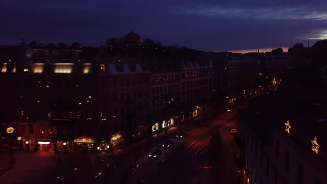 blå timmen city - gothenburg bildbanksvideor och videomaterial från bakom kulisserna