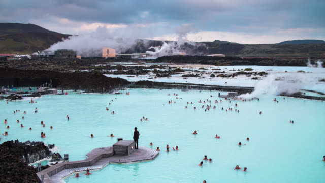 Blue Lagoon Geothermal Pools - Iceland video