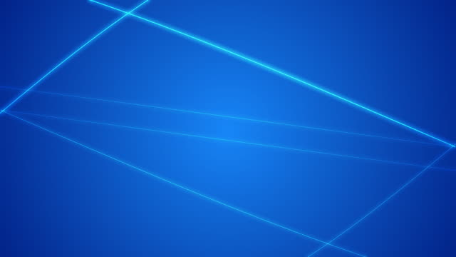 Blue Laser Loop Background video