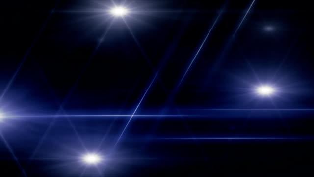 blue laser-stars – Video