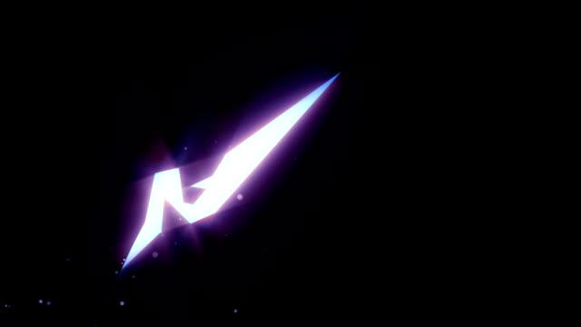 Blue light animation, Manga style, Skew video