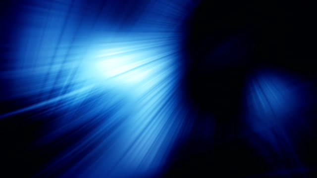blue light flashes abstract loop background video
