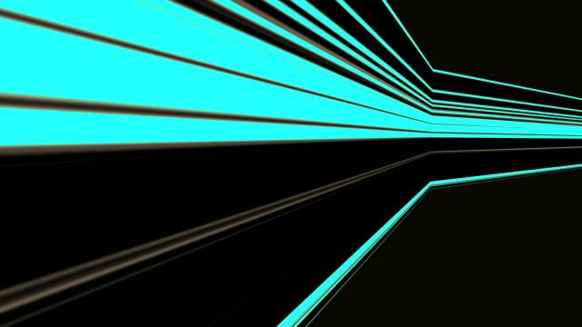 Blue Light Strokes Background Loop video