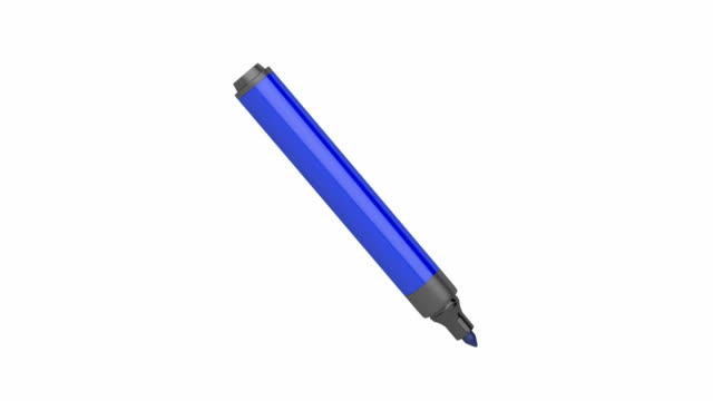 Blue marker video