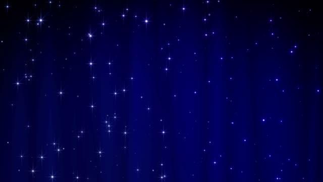 sfondo blu buon natale con stelle. walpaper di lusso per il giorno di san valentino - christmas movie video stock e b–roll
