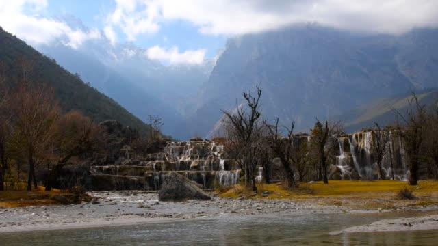 中国・麗江玉竜雪山でブルー ムーン渓谷 ビデオ
