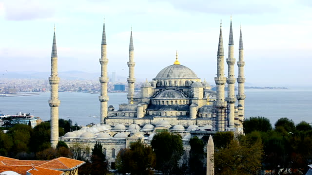 Mezquita Azul en Estambul - Sultan Ahmet Camii - vídeo