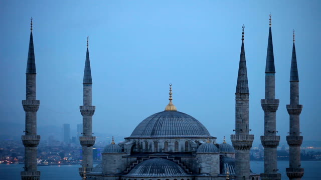 Blue Mosque in Istanbul - Sultan Ahmet Camii video