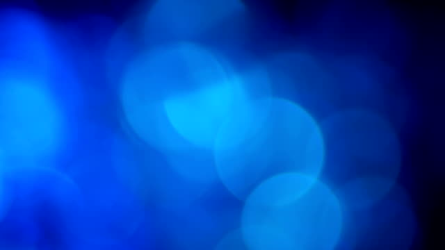 Blue motion background template video