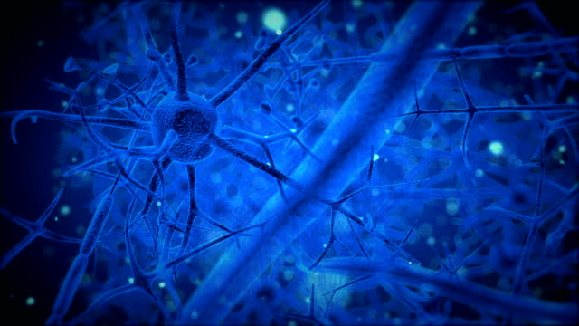 blue neuron
