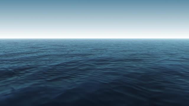CG Blue Ocean Scene video