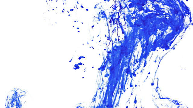 Blue Paint Swirl 2 video
