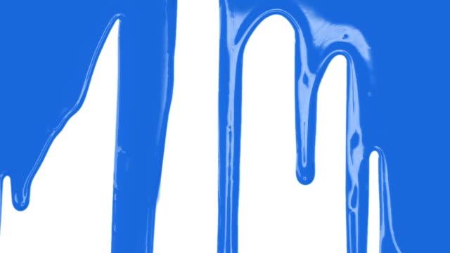 blue paint transition - färg bildbanksvideor och videomaterial från bakom kulisserna