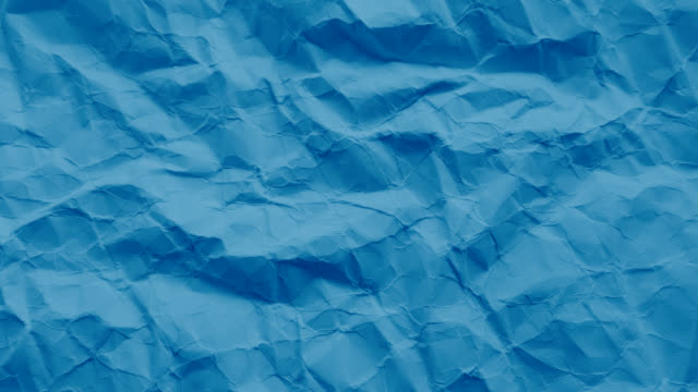 Blue paper texture wrinkled Paper texture wrinkled in a white background paper texture stock videos & royalty-free footage
