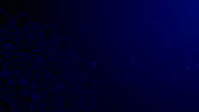 blue ramadhan background - ramadan stock videos and b-roll footage