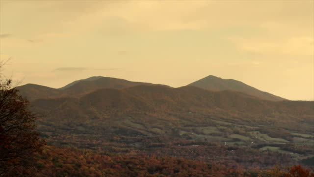 Blue Ridge Mountains, Virginia, USA video