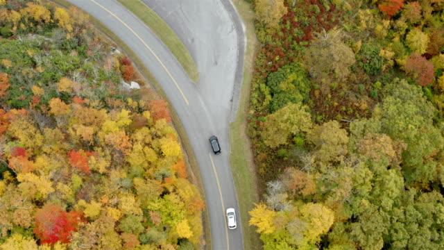 Blue Ridge Parkway In the Fall