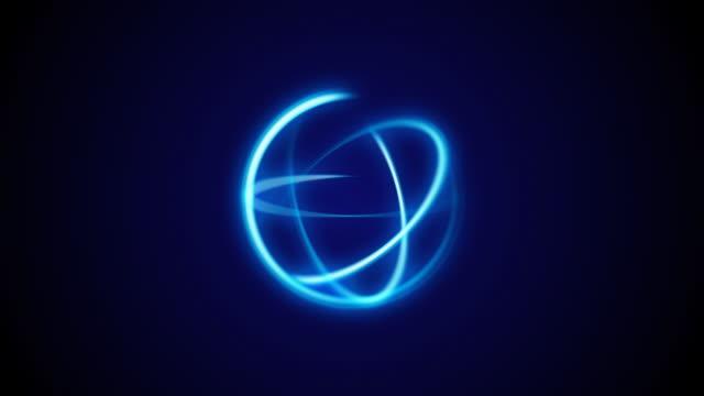 Blue Rotating Lights video
