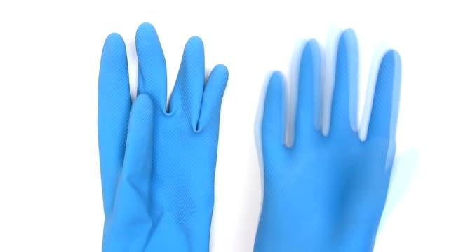 Blue Rubber Gloves video