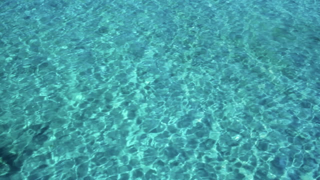 Blue  sea water video