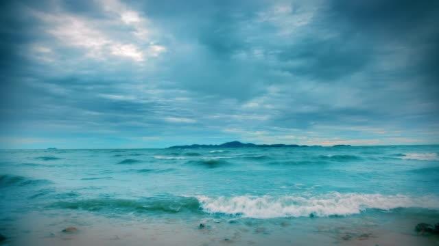 Blue seascape video