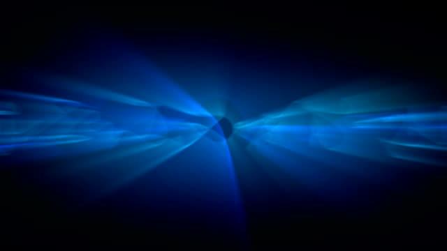 Blue Shine. Loop video