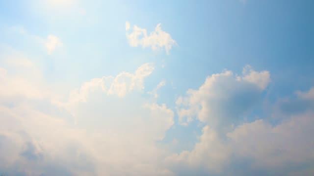青い空と白い雲 ビデオ