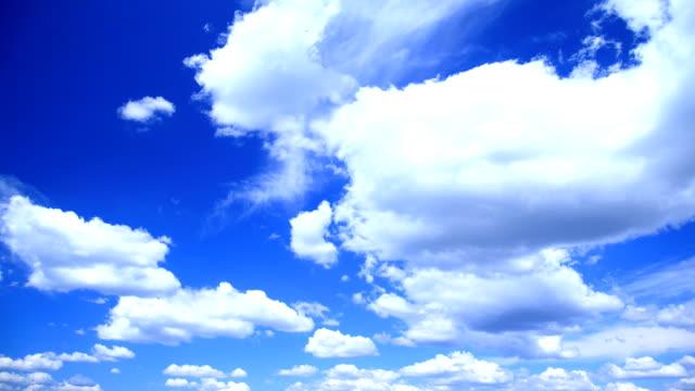 Blue sky HD video