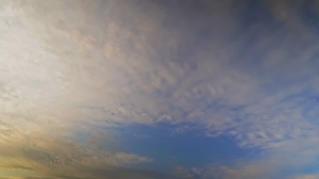 Blue sky  time laps video