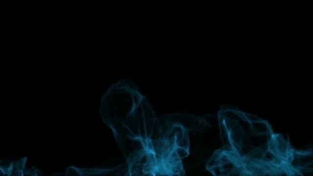 Blue smoke video