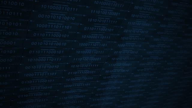 blue software ai or vr concept processing commands in futuristic digital landscape alt - google стоковые видео и кадры b-roll