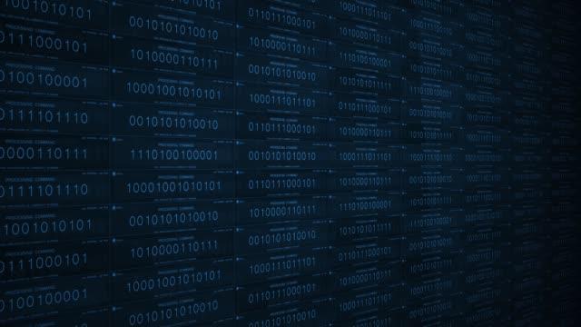 blue software ai or vr concept processing commands in futuristic digital landscape - google стоковые видео и кадры b-roll