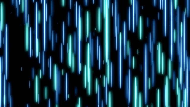 Blauwe snelheid licht abstracte achtergrond. video