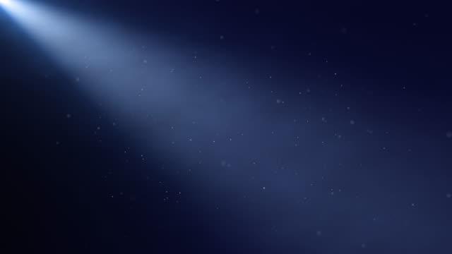 blue spotlight - riflettore lenticolare video stock e b–roll