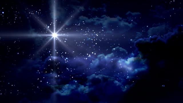 vídeos de stock e filmes b-roll de azul estrelado noite fica - reis magos