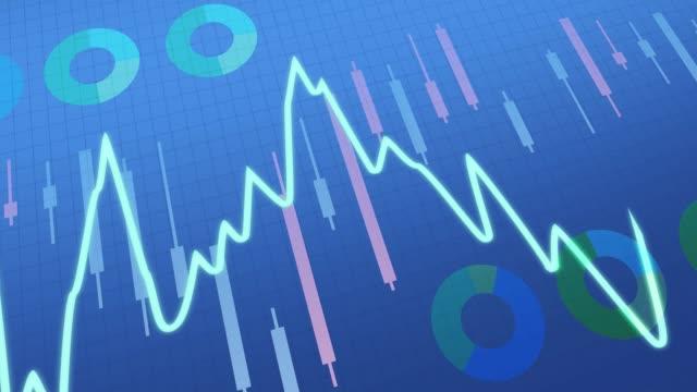Blue Stock Chart
