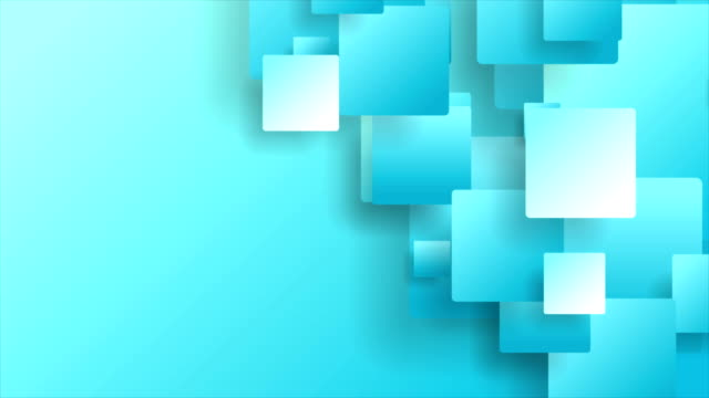 Blue technology geometric abstract video animation Blue technology geometric abstract motion background. Seamless loop. Video animation Ultra HD 4K 3840x2160 square composition stock videos & royalty-free footage