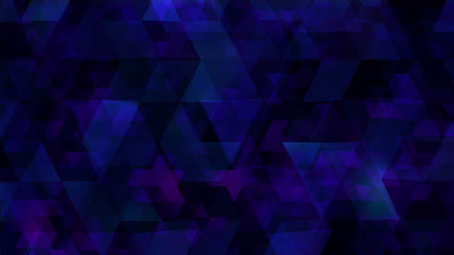 Blue Triangles Animated Background video