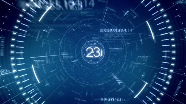 blue tunnel data 30 seconds countdown