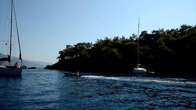 Blue Voyage. Blue voyage. aegean sea stock videos & royalty-free footage