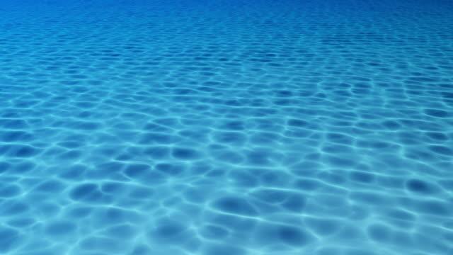 Blue Water Pool, Underwater View video