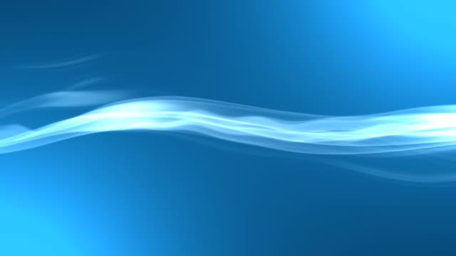 블루 흔들다 - 배경 초점 스톡 비디오 및 b-롤 화면
