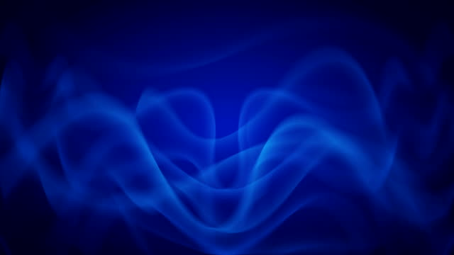 Blue Waves Abstract Background Looping video
