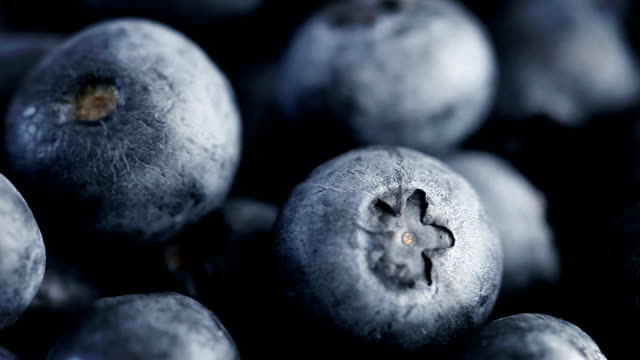Blueberries Macro Loop (Full HD) video