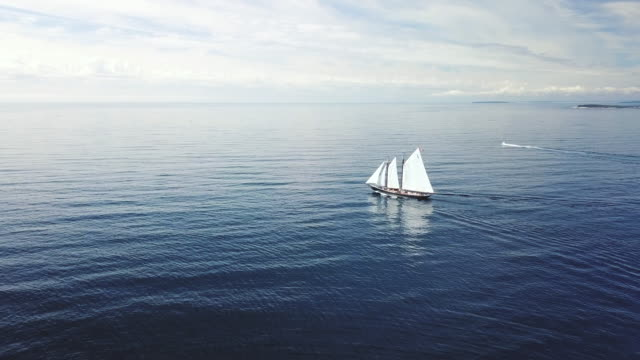 Bluenose II Nova Scotia's sailing ambassador, Bluenose II. mast sailing stock videos & royalty-free footage